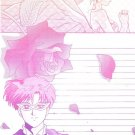 Sailor Moon Doujinshi Stationary Letter Sheet #28