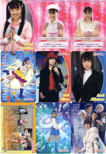 Pretty Guardian Sailor Moon Live Action Trading Cards Lot Telatia