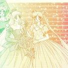 Sailor Moon Doujinshi Stationary Letter Sheet #31