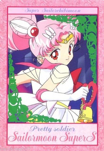 Sailor Moon Super S Bromide DX Regular Card - Chibi Twinklebell