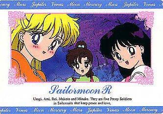 Sailor Moon R Hero 1 Regular Card #81
