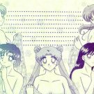 Sailor Moon Doujinshi Stationary Letter Sheet #16