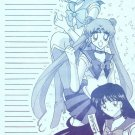 Sailor Moon Doujinshi Stationary Letter Sheet #6