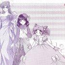 Sailor Moon Doujinshi Stationary Letter Sheet #29
