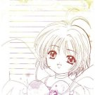Cardcaptor Sakura Doujinshi Stationary Letter Sheet #1