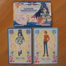 Pretty Cure Max Heart Pop-up House & Doll Cards Lot #4