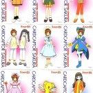 Card Captor Sakura PP Pull Pack 1 Movie Regular Cards
