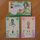 Pretty Cure Max Heart Pop-up House & Doll Cards Lot #6