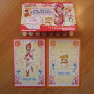 Pretty Cure Max Heart Pop-up House & Doll Cards Lot #2
