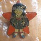 Sailor Moon Super S TKTAT Pin Orange Star - Rei
