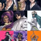 Bleach Clear Card Collection 4 Regular Complete Illustration Puzzle Set #208-216