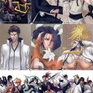 Bleach Clear Card Collection 6 Regular Complete Illustration Puzzle Set #334-342