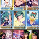 Sailor Moon S Graffiti 6 Complete Regular Card Set