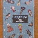 Naruto Chibi 2005 Monthly Schedule Diary Refill Sheets Kakashi Sasuke