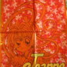 Ribon Manga Kamikaze Kaito Jeanne Orange Drawstring Bag