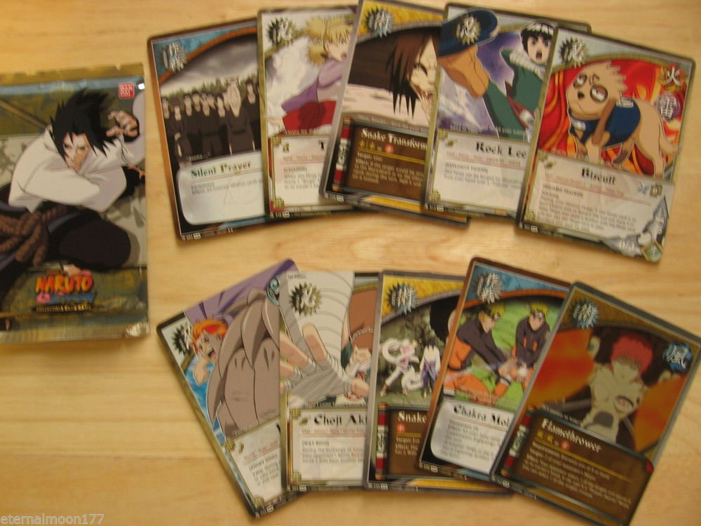 Naruto TCG CCG Fangs of the Snake Booster Pack #2
