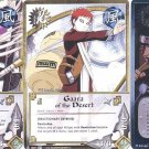 Naruto TCG CCG Uncommon Rainbow Foil Rare Cards - Temari Gaara