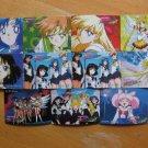 Sailor Moon Stars Banpresto Twin Character Mini Regular Cards