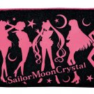 Sailor Moon Crystal Capsule Goods Gashapon - Black/Pink Pouch