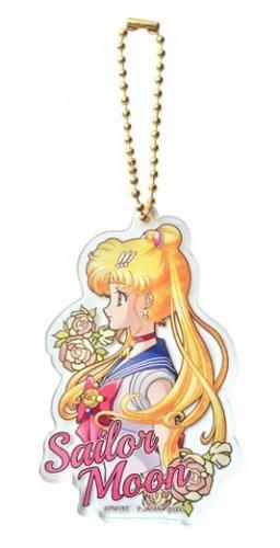 Sailor Moon Crystal Acrylic Ball Chain Strap Charm - Sailor Moon