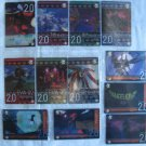 Evangelion Plastic Lawson Chocolate Wafer Card Lot A