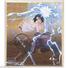 Naruto Shippuden Shikishi Art Visual Collection - Special Foil Sasuke Puzzle