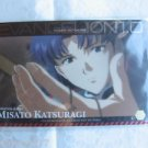 Evangelion Plastic Lawson Chocolate Wafer Card - Embossed Special C-03 Misato