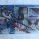 Evangelion Plastic Lawson Chocolate Wafer Card - EC-14 Rei Ayanami
