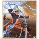 Naruto Shippuden Shikishi Art Visual Collection - Special Foil Naruto Puzzle