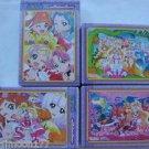 Go! Maho Tsukai Princess Precure Ensky Puzzle Gum - Part 3 Complete Set of 4