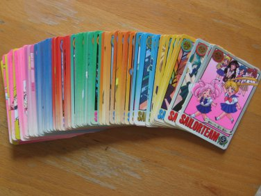 Sailor Moon Mixed Graffiti Regular Cards Lot of 103
