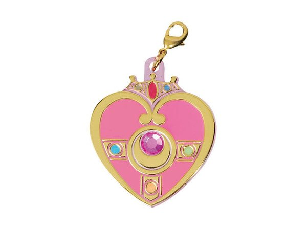 Sailor Moon Milky Pop Acrylic Charm Gashapon Keychain - Cosmic Heart Compact