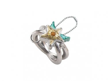 Sailor Moon Die Cast Ring Charm Figure Gashapon - Star Light