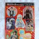 Jump Festa 2012 Sticker Sheet - Bleach Gintama Nisekoi Kurogane Nura