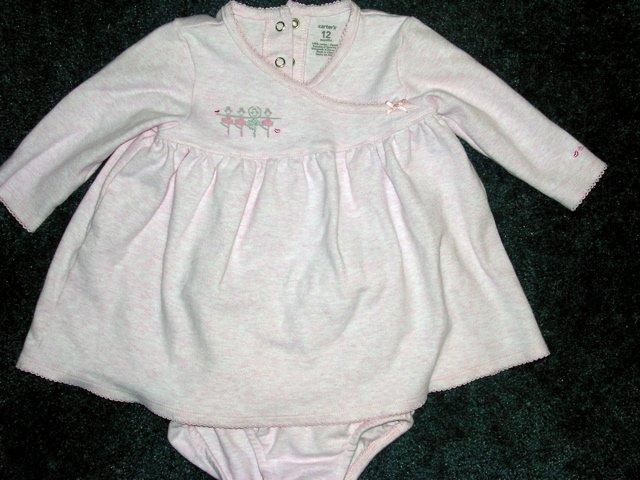 Carter's pink ballerina dress 12 months