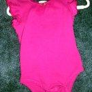 Circo fuscia ruffle sleeve onesie 12 months