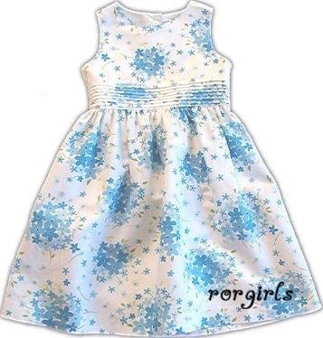 Gymboree Easter Basket blue flower dress HTF 12-18