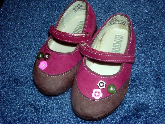 Gymboree Cute as a Button shoes sz 03