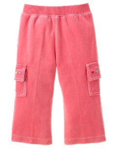 Gymboree Sugar and Spice velour pants 18-24