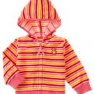 Gymboree Sugar and Spice velour hoodie 18-24
