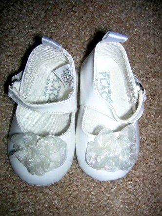 Children's Place dress shoes 0-6 months