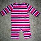 Old Navy stripe romper 0-3