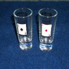 """ACES"" Set of two shot glasses"