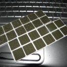 20mm x 20mm Velcro Type Hook & loop Squares