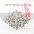 Bridal Diamond Shaped Rhinestone Brooch, Wedding Brooch, Rhinestone Brooch, Bridal brooch BR0027