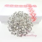 Bridal Brooch Perfect for Faux Fur, Wedding Brooch Jewelry, Rhinestone Brooch, Bridal brooch BR0028