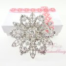 Circular Victorian Bridal Rhinestone Brooch, Wedding Brooch Jewelry, Bridal brooch BR0022