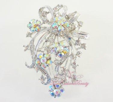 Pageant Brooch, high quality Swaroviski Crystal , Bridal Brooch, Wedding brooch BR0019