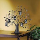 NEW Tree of Life Photo Collage Family Metal 6 Hanging Frames Ornaments Pictures