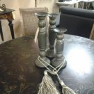 Set of 3 Designer Decorative Candle Holders 100% Handmade